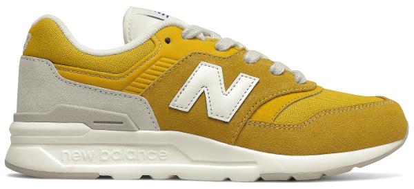 Żółte buty sportowe dziecięce New Balance