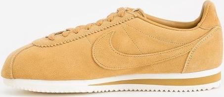 Żółte buty sportowe Nike ze skóry
