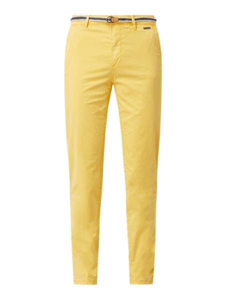 Żółte spodnie Esprit