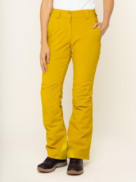 Żółte spodnie sportowe Salomon
