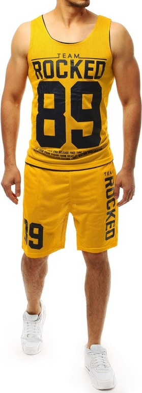 Żółty dres Dstreet