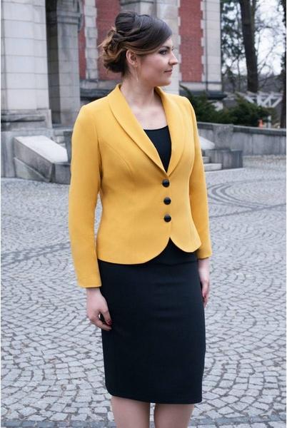 Żółty kostium damski Sarex