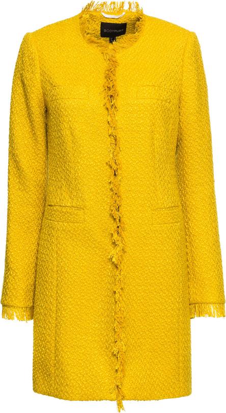 Żółty płaszcz bonprix BODYFLIRT