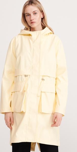 Żółty płaszcz Reserved w stylu casual