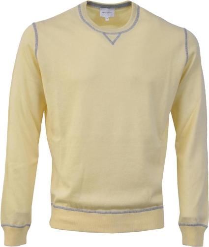 Żółty sweter Artu Napoli w stylu casual