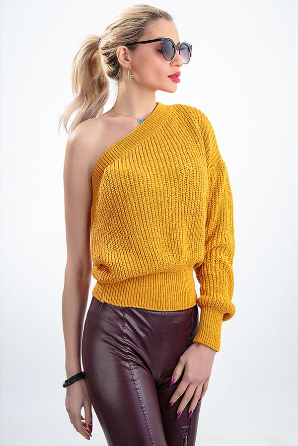 Żółty sweter Ivet.pl