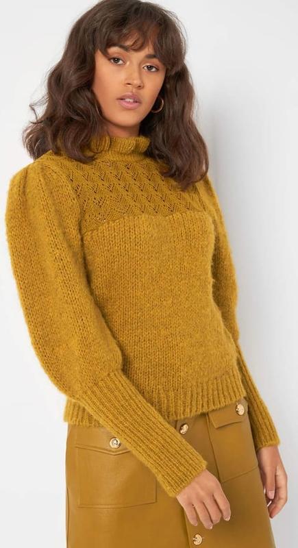 Żółty sweter ORSAY