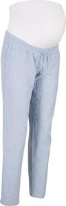 Spodnie ciążowe z lnem | bonprix