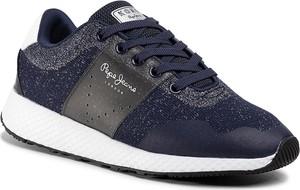 Sneakersy Pepe Jeans na platformie