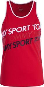 Czerwony top Tommy Sport