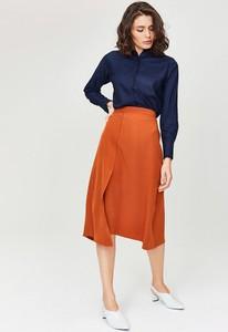 e9eb575d długa asymetryczna spódnica - stylowo i modnie z Allani