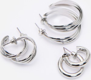 Reserved - Zestaw kolczyków - Srebrny