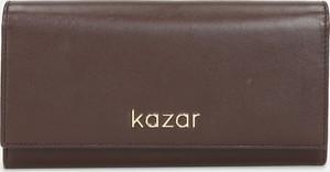 Brązowy portfel Kazar