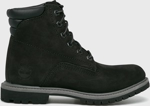 Czarne obuwie zimowe damskie Timberland Kolekcja wiosna