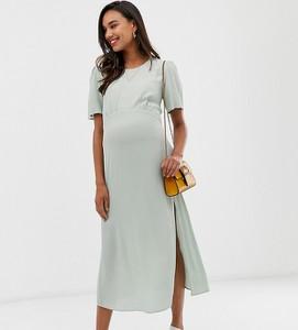 Zielona sukienka New Look Maternity
