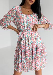 Sukienka Latika z dekoltem w kształcie litery v mini