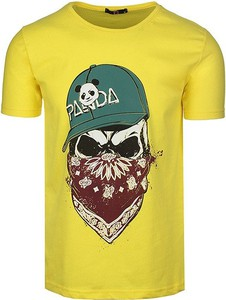 T-shirt Neidio z dzianiny
