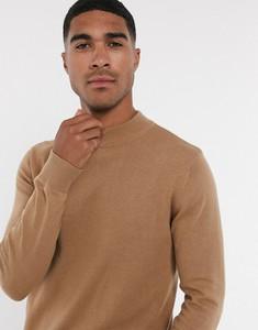 Brązowy sweter Brave Soul w stylu casual z bawełny