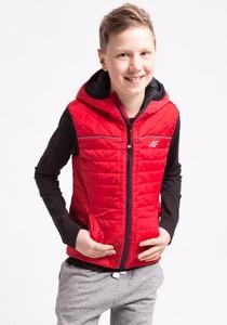 Czerwona kamizelka dziecięca 4F dla chłopców