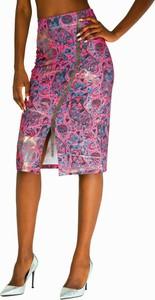 Różowa spódnica Culito From Spain midi