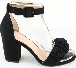 Czarne sandały Foreverfolie