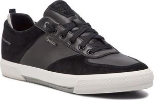 1f94384a0b904 geox lakierowane trampki. Sneakersy GEOX - U Kaven A U926MA 022ME C9999  Black