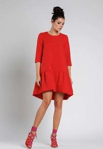 Sukienka Nommo mini w stylu klasycznym oversize
