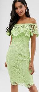 Zielona sukienka Paper Dolls