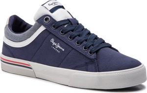 Pepe Jeans Sneakersy North Court PMS30530 Granatowy