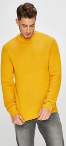 Żółty sweter Calvin Klein