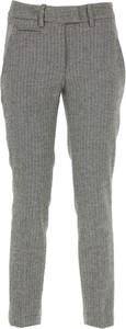 Spodnie Dondup w stylu casual z jedwabiu