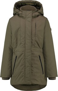 Zielony płaszcz dziecięcy Vingino