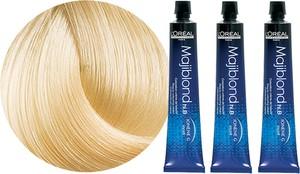 L'Oreal Paris Loreal Majirel Majiblond | Zestaw: trwała, rozjaśniająca farba do włosów - kolor 900S bardzo bardzo jasny blond 3x50ml - Wysyłka w 24H!