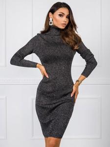 Czarna sukienka Factory Price mini