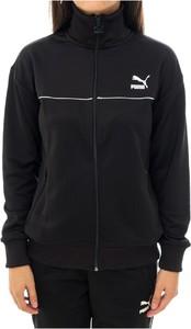 Czarna bluza Puma krótka w sportowym stylu