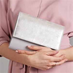 c8119f00b9bfd srebrna kopertówka - stylowo i modnie z Allani