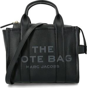 Czarna torebka Marc Jacobs ze skóry na ramię