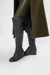 Kozaki Calvin Klein w stylu casual na zamek