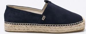 Granatowe buty letnie męskie Vagabond