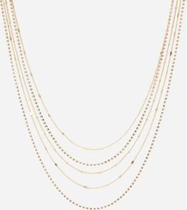 Reserved - Naszyjnik z łańcuszkami - Złoty