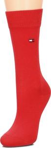 Czerwone skarpetki Tommy Hilfiger dla dziewczynek