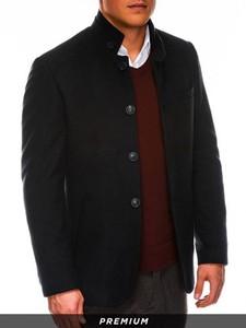 Płaszcz męski Ombre w stylu casual