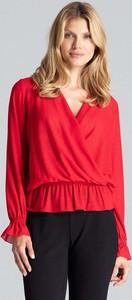 Czerwona bluzka Figl