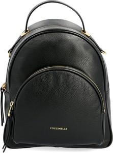 Plecak Coccinelle ze skóry