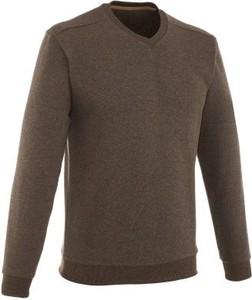 Brązowy sweter Quechua