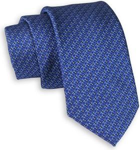 Niebieski krawat Chattier