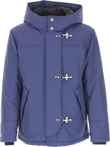 Niebieska kurtka Fay z bawełny