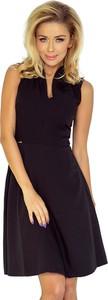 Sukienka NUMOCO w stylu klasycznym z dekoltem w kształcie litery v bez rękawów