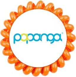 Papanga Elastyczna gumka do włosów (duża): papaja - Wysyłka w 24H!