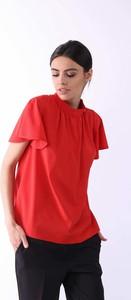 Bluzka Nommo z okrągłym dekoltem z krótkim rękawem